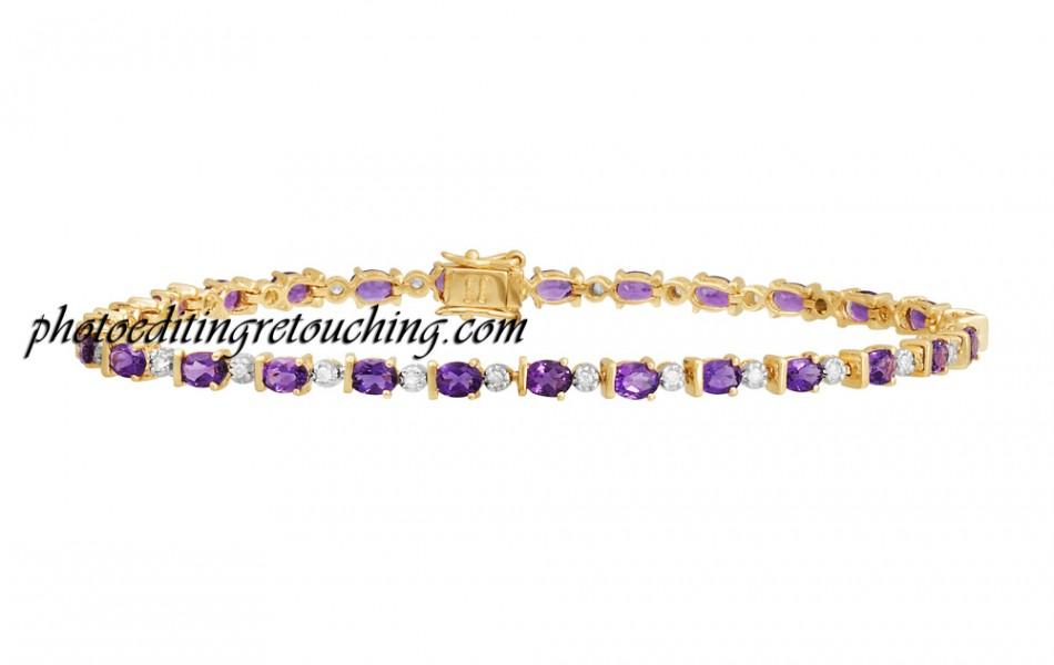 bracelet gold photoshopped