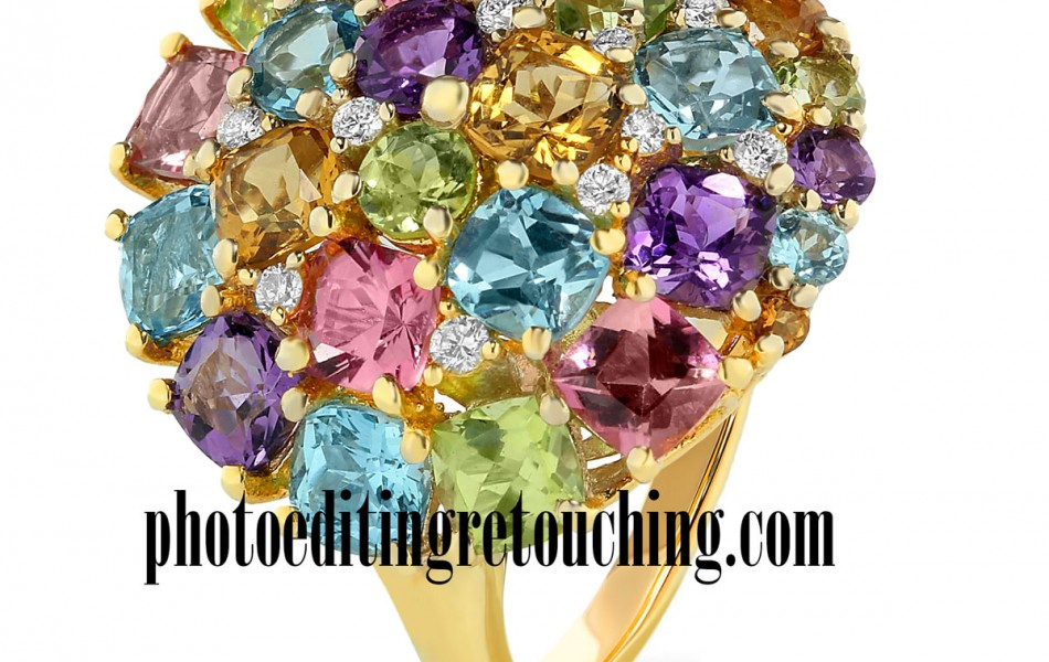 diamond gemstones retouch